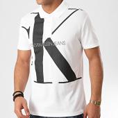 /achat-polos-manches-courtes/calvin-klein-polo-manches-courtes-upscale-monogram-5358-blanc-214607.html