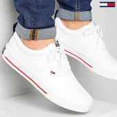 /achat-baskets-basses/tommy-jeans-baskets-classic-low-tommy-jeans-sneaker-0405-white-214666.html