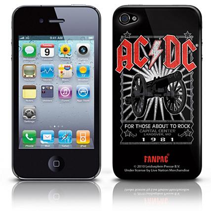 coque acdc iphone 4