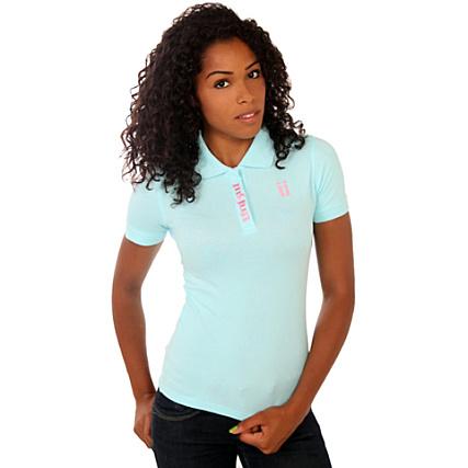 Polo Unkut Rose Bleu Femme Bicolore shCQtdr