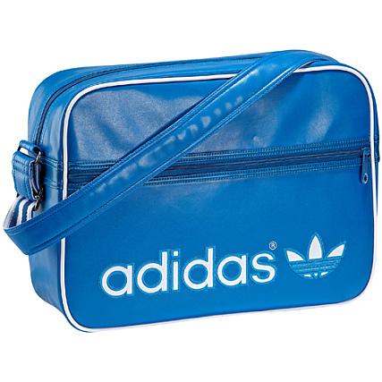 d6522dea7d Sacoche Adidas Airline Bag Bleu Roi Logo Blanc - LaBoutiqueOfficielle.com