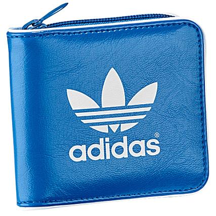 énorme réduction 642d5 3e056 Portefeuille Adidas Originals Bleu - LaBoutiqueOfficielle.com