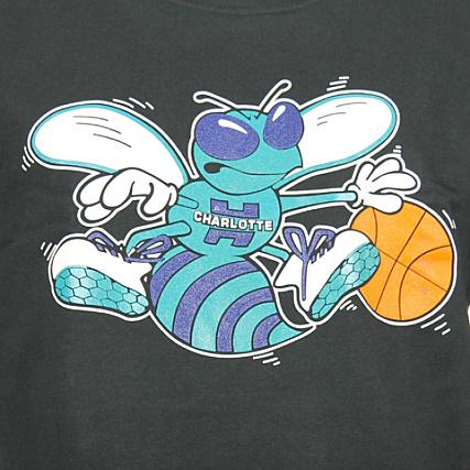 fa1087a4493 Home   Mitchell and Ness   Charlotte Hornets   Sweats - Pulls   Sweats Col  Rond - Crewneck   Sweat Crewneck Mitchell And Ness Charlotte Hornets  Classic Logo ...