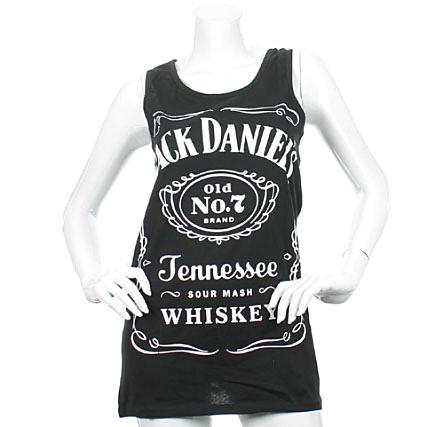 Débardeur Femme Jack Daniels Tennessee Noir