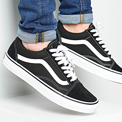 vans baskets mode d3hy28 old skool noir 38