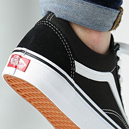 Vans - Baskets Old Skool D3HY28 Black White ...