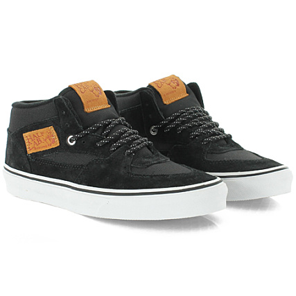628ab43541 Baskets Vans Half Cab Ballistic Black - LaBoutiqueOfficielle.com