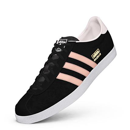 chaussure femme adidas gazelle noir