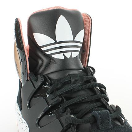 hot sale online 26878 181a8 Home  adidas  Baskets - Chaussures  Baskets Montantes  Baskets Adidas  GLC W Noir Or
