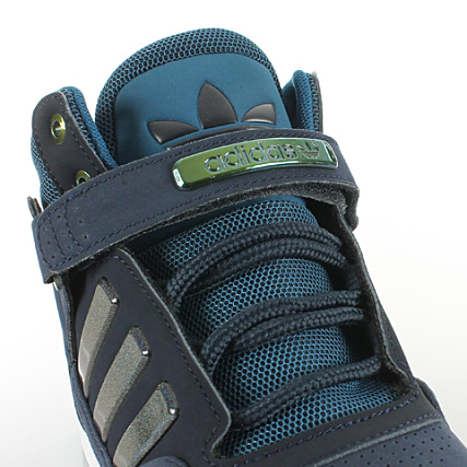 photos officielles 99701 5a96f Baskets Adidas AR 2.0 Bleu Marine Blanc ...