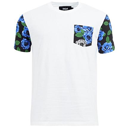 Tee Shirt Unkut Rose Pocket Blanc - LaBoutiqueOfficielle.