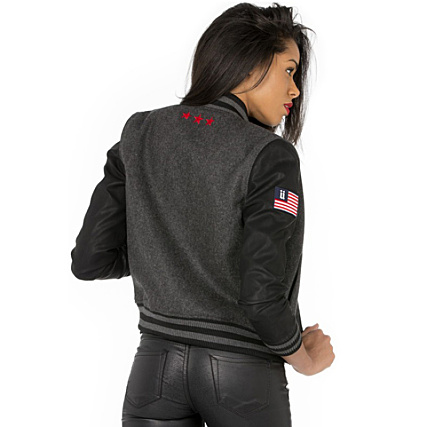 Unkut Us Femme Teddy Anthracite Gris FTfxvq