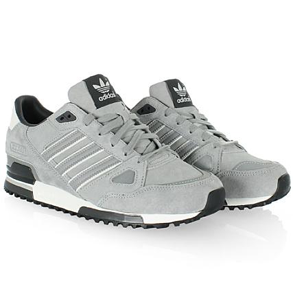 chaussures de séparation 66e14 46abb Baskets Adidas ZX750 Gris Noir - LaBoutiqueOfficielle.com