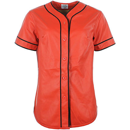 Tee Femme 981cv Rouge Baseball June Parisiennes Shirt Sixth qSpGjMzLVU