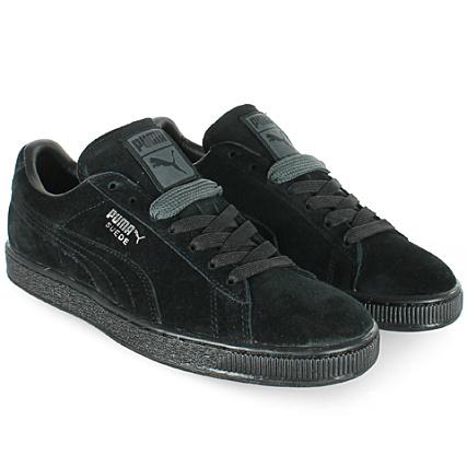 Puma Baskets Suede Classic Plus 352634 77 Black Dark