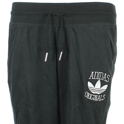 later outlet on sale new design Pantalon Jogging Femme adidas Cuffed Slim TP Noir ...