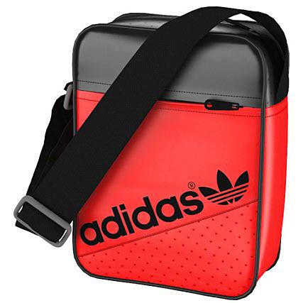76c1d9d329 Sacoche Adidas Minibag Perf Rouge Vif Noir - LaBoutiqueOfficielle.com