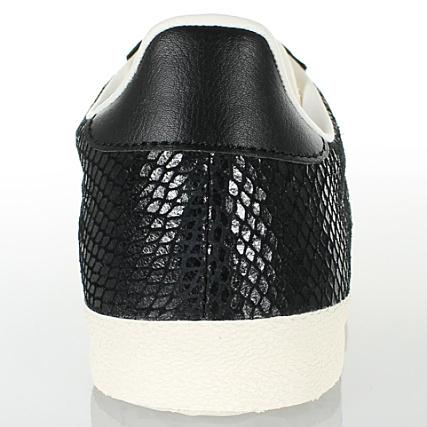 code promo eea94 04af7 Baskets Femme Adidas Gazelle OG Serpent Noir ...