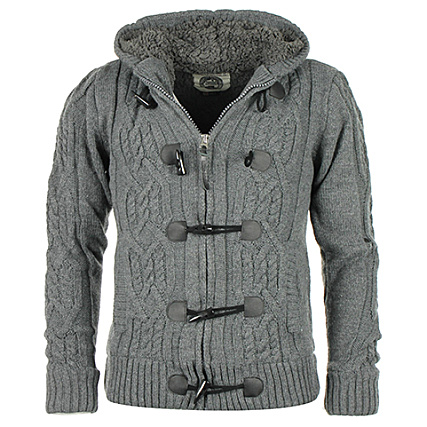 Ferase Gris Anthracite Geographical Cardigan Norway Pull qOwa8gtx
