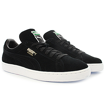 Puma Gold Classic Black 352634 Plus Baskets Suede Team 87 ARj35q4L