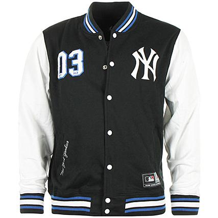 Athletic Lockler Yankees New Majestic Blouson Teddy Letterman Yorkk rBoexQdCW