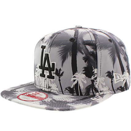 e19e6dc3e5ffe Casquette Strapback New Era Miami Vibe 950 Los Angeles Dodgers Noir Floral  - LaBoutiqueOfficielle.com