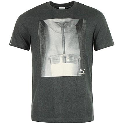 Brand Anthracite Puma Tee Gris Shirt bv7gYf6y