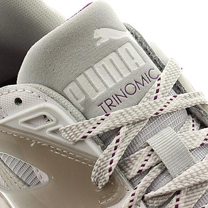 puma trinomic r698 grise femme