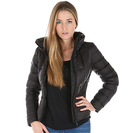 Hooded Noir Only Doudoune Jacket Femme Tahoe xrdothCBQs
