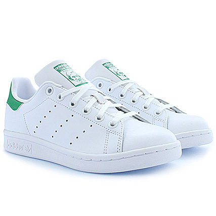Footwear Stan Green Baskets White Femme Smith Adidas M20605 5ALq34jR