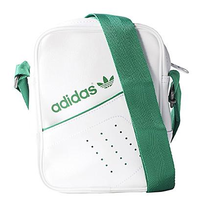 Blanc Vert Bag Perf Sacoche Adidas Mini Nmn80w