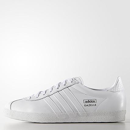 Baskets Femme adidas Gazelle OG Blanc
