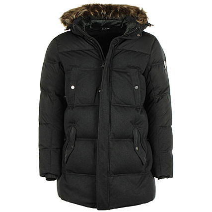 Noir Ea7 Fur Mount Jacket Doudoune Down rBoedCx