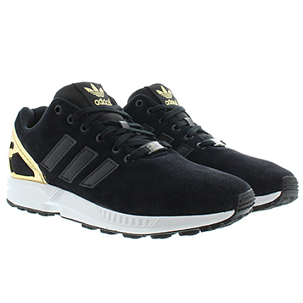 adidas zx flux gold noir