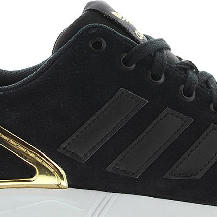 Baskets adidas ZX Flux B35319 Noir Gold