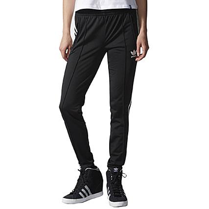 Pantalon Jogging Femme adidas Slim Supergirl Noir - LaBoutiqueOfficielle.com cc6b8adc202