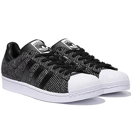 adidas Baskets Superstar Winterized Noir Blanc