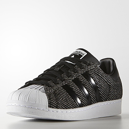 Blanc Superstar Winterized Baskets Adidas Noir wXTiuOPZlk