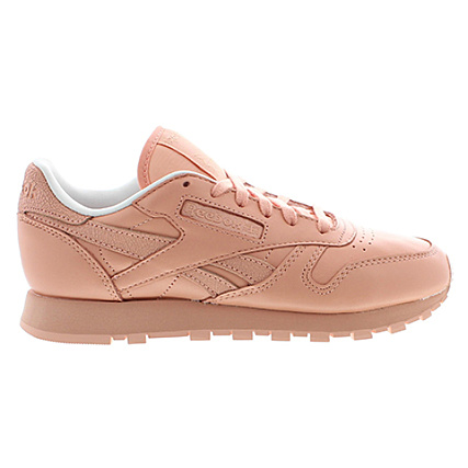95611dcd73a0f Home   Reebok   Baskets - Chaussures   Baskets Basses   Reebok - Baskets  Femme Classic Leather Spirit X Face Stockholm Saumon