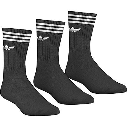 ba76ea3fde7cb adidas - Lot De 3 Paires De Chaussettes De Sport S21490 Noir -  LaBoutiqueOfficielle.com