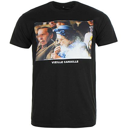 viejo Camiseta negro Camiseta negro Canaille sucia sucia Canaille Canaille viejo negro Camiseta sucia c4RL53qjA