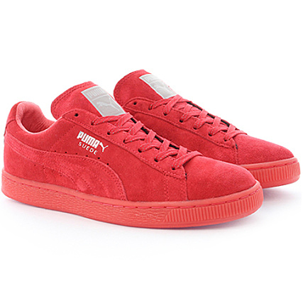 Mono Rouge Suede Iced Classic Puma Plus Baskets wn8PX0Ok