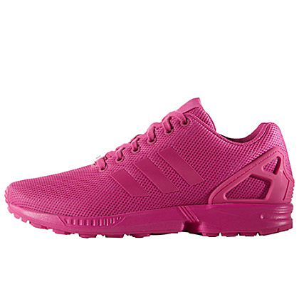 adidas Baskets ZX Flux S75490 Rose Fluo