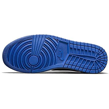 Og Nike Noir 1 Baskets Marine Low Air Jordan Retro Bleu cKulTF1J3