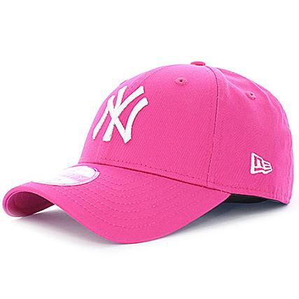 New Era - Casquette Femme Fashion Essential 9Forty New York Yankees Rose -  LaBoutiqueOfficielle.com 647c7cd99144
