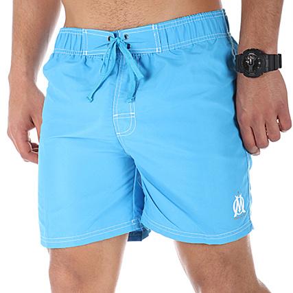 M15123 Bleu Short Om Turquoise Bain De NkX80nOPw