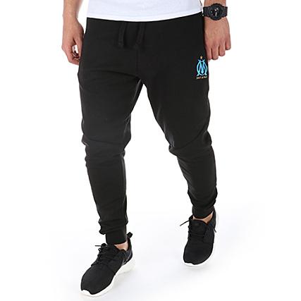 OM Pantalon Jogging Fit Logo Noir