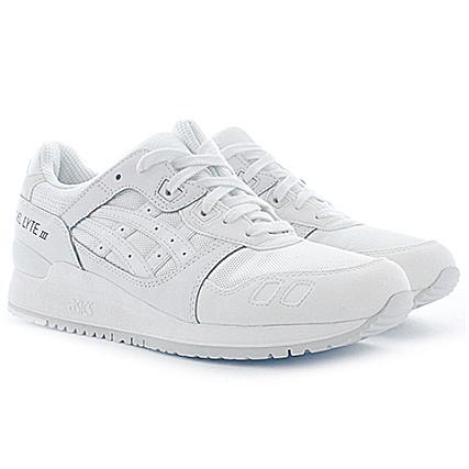 Gel Baskets White H6b3n Asics 0101 Iii Lyte strxhCQd