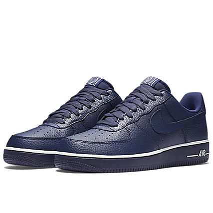 Nike Bleu Force Air 1 Baskets Marine trBQCxohsd