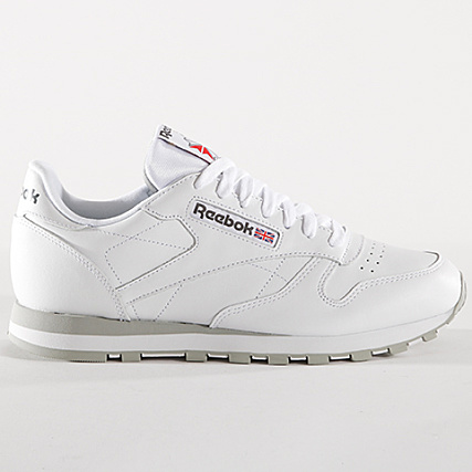 19a7a3c9631 Home   Reebok   Baskets - Chaussures   Baskets Basses   Reebok - Baskets  Classic Leather 2214 White